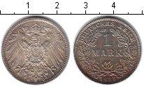 Изображение Монеты Германия 1 марка 1915 Серебро XF D