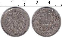 Изображение Монеты Германия 1 марка 1883 Серебро XF A