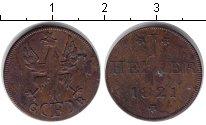 Изображение Монеты Франфуркт 1 геллер 1821 Медь XF