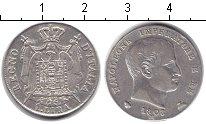 Изображение Монеты Италия 1 лира 1808 Серебро VF Наполеон