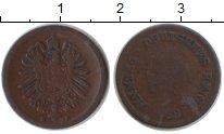 Изображение Монеты Германия 1 пфенниг 0 Медь  E