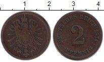 Изображение Монеты Германия 2 пфеннига 1974 Медь XF
