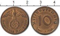 Изображение Монеты Третий Рейх 10 пфеннигов 1937  XF F