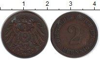 Изображение Монеты Германия 2 пфеннига 1910 Медь XF