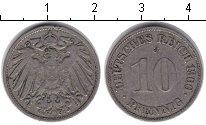 Изображение Монеты Германия 10 пфеннигов 1900 Медно-никель VF