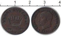 Изображение Монеты Италия 1 сентесимо 1809 Медь VF