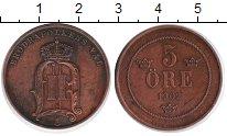 Изображение Монеты Швеция 5 эре 1902 Медь XF