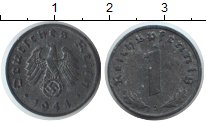 Изображение Монеты Третий Рейх 1 пфенниг 1944 Цинк XF