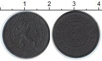 Изображение Монеты Бельгия 5 сантим 1916 Цинк XF