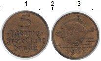 Изображение Монеты Данциг 5 пфеннигов 1932 Медь XF Палтус