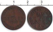 Изображение Монеты Гессен-Кассель 1 геллер 1859 Медь VF