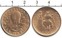 Изображение Монеты Сан-Марино 200 лир 1997  UNC