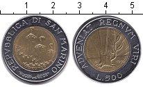 Изображение Монеты Сан-Марино 500 лир 1993 Биметалл UNC