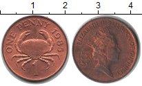Изображение Монеты Гернси 1 пенни 1985 Медь XF