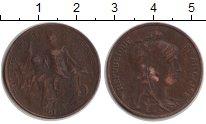 Изображение Монеты Франция 5 сантим 1916 Медь VF Женщина с ребенком