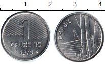 Изображение Монеты Бразилия 1 крузейро 1979 Медно-никель UNC-