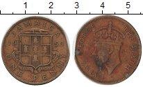 Изображение Монеты Ямайка 1 пенни 1950 Латунь VF