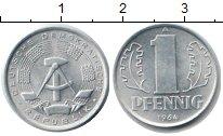 Изображение Монеты ГДР 1 пфенниг 1964 Алюминий XF