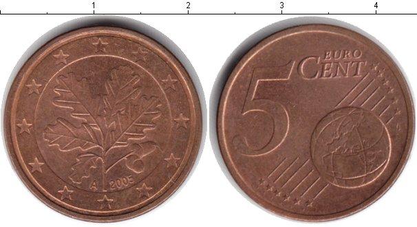 Картинка Барахолка Германия 50 евроцентов Медь 2005