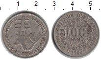 Изображение Монеты Западно-Африканский Союз 100 франков 1980 Медно-никель VF