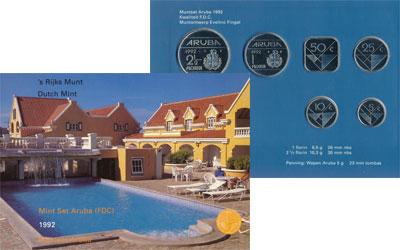 Изображение Подарочные наборы Аруба Выпуск 1992 года 1992  UNC Представляем Вашему