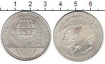 Изображение Монеты Испания 12 евро 2008 Серебро UNC- Хуан Карлос и София