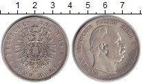Изображение Монеты Пруссия 5 марок 1874 Серебро VF А. Вильгельм I