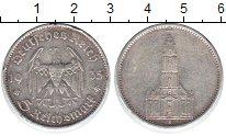 Изображение Монеты Третий Рейх 5 марок 1935 Серебро VF А. Церковь