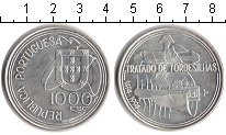 Изображение Монеты Португалия 1000 эскудо 1994 Серебро Proof-