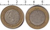 Изображение Монеты Мексика 10 песо 2010 Биметалл XF