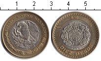 Изображение Монеты Мексика 10 песо 2001 Биметалл XF Миллениум. Националь
