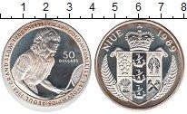 Изображение Монеты Ниуэ 50 долларов 1989 Серебро UNC-