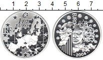 Изображение Монеты Франция 1 1/2 евро 2004 Серебро Proof- Расширение ЕС