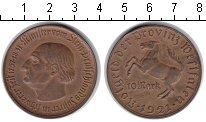 Изображение Монеты Вестфалия 10 марок 1921 Медь XF Минилтер вон Штейн.