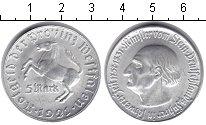 Изображение Монеты Вестфалия 5 марок 1921 Алюминий UNC-