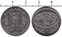 Изображение Монеты Румыния 10 лей 1995 Медно-никель UNC-