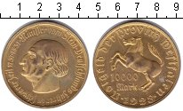 Изображение Монеты Вестфалия 10.000 марок 1923 Медь XF Минилтер вон Штейн.