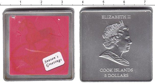Картинка Монеты Острова Кука 5 долларов Серебро 0