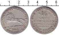 Изображение Монеты Ганновер 16 грош 1820 Серебро XF