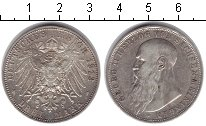 Изображение Монеты Саксен-Майнинген 3 марки 1913 Серебро VF Георг II