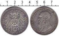 Изображение Монеты Саксен-Майнинген 5 марок 1908 Серебро XF Георг II