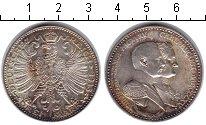 Изображение Монеты Саксен-Веймар-Эйзенах 3 марки 1915 Серебро UNC- Вильгельм Эрнст и Ка