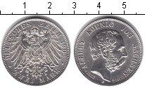 Изображение Монеты Саксония 2 марки 1902 Серебро UNC- Альберт