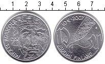 Изображение Монеты Финляндия 10 евро 2007 Серебро UNC-