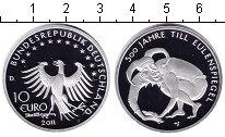 Изображение Монеты Германия 10 евро 2011 Серебро Proof- Тиль Уленшпигель
