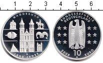 Изображение Монеты Германия 10 евро 2005 Серебро Proof- Магдебург