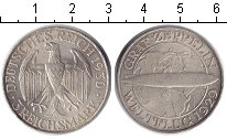 Изображение Монеты Германия 3 марки 1930 Серебро XF
