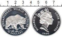 Изображение Монеты Острова Кука 50 долларов 1990 Серебро XF