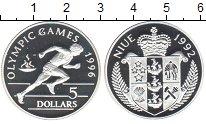 Изображение Монеты Ниуэ 5 долларов 1992 Серебро Proof-