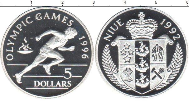 Картинка Монеты Ниуэ 5 долларов Серебро 1992